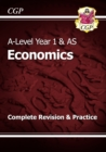 Image for A-Level Economics: Year 1 & AS Complete Revision & Practice