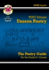 Image for New Grade 9-1 GCSE English Literature WJEC Eduqas Unseen Poetry Guide