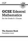 Image for GCSE Maths Edexcel Answers for Workbook: Foundation - for the Grade 9-1 Course