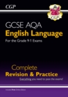 Image for GCSE AQA English language  : complete revision & practice