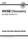 Image for GCSE chemistry  : for AQA (grade 9-1): Exam practice answer book