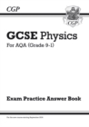 Image for GCSE physics  : for AQA (grade 9-1): Exam practice answer book