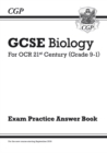 Image for GCSE Biology: OCR 21st Century Answers (for Exam Practice Workbook)
