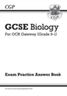 Image for GCSE Biology: OCR Gateway Answers (for Exam Practice Workbook)