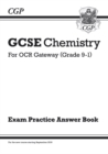 Image for GCSE Chemistry: OCR Gateway Answers (for Exam Practice Workbook)
