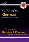 Image for GCSE German AQA Complete Revision & Practice (with CD & Online Edition) - Grade 9-1 Course