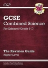 Image for Grade 9-1 GCSE Combined Science: Edexcel Revision Guide with Online Edition - Higher