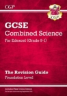 Image for Grade 9-1 GCSE Combined Science: Edexcel Revision Guide with Online Edition - Foundation