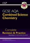 Image for 9-1 GCSE Combined Science: Chemistry AQA Higher Complete Revision & Practice with Online Edition