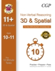 Image for 10-Minute Tests for 11+ Non-Verbal Reasoning: 3D and Spatial (Ages 10-11) - Cem Test