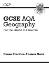 Image for Grade 9-1 GCSE Geography AQA Answers (for Workbook)