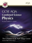 Image for Grade 9-1 GCSE Combined Science for AQA Physics Student Book with Online Edition