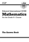 Image for Edexcel International GCSE Maths Answers for Workbook - for the Grade 9-1 Course