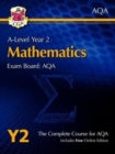 Image for A-Level Maths for AQA: Year 2 Student Book with Online Edition