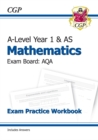 Image for A-Level Maths for AQA: Year 1 & AS Exam Practice Workbook