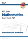 Image for A-Level Maths for AQA: Year 1 & 2 Exam Practice Workbook