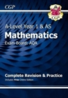 Image for A-Level Maths for AQA: Year 1 & AS Complete Revision & Practice with Online Edition