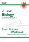 Image for New A-Level Biology: OCR A Year 1 & 2 Exam Practice Workbook - includes Answers