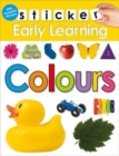 Image for Colours : Sticker Early learning