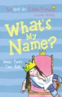 Image for What's my name?
