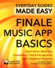 Image for Finale music app basics  : expert advice, made easy