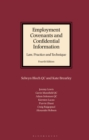 Image for Employment Covenants and Confidential Information: Law, Practice and Technique