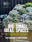 Image for Big ideas, small spaces  : cutting-edge ideas and 30 projects for balconies, roof gardens, windowsills, and terraces