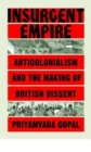 Image for Insurgent empire  : anticolonial resistance and British dissent