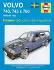 Image for Volvo 700 series owner's workshop manual  : 82-92