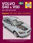 Image for Volvo S40 & V50 owner's workshop manual