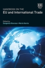 Image for Handbook on the EU and international trade