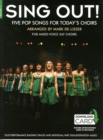 Image for Sing Out] 5 Pop Songs For Today's Choirs - Book 1 (Book/Audio Download)
