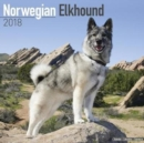 Image for Norwegian Elkhound Calendar 2018