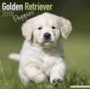 Image for Golden Retriever Puppies Calendar 2018