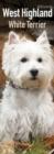 Image for West Highland White Terrier Slim Calendar 2018