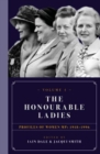 Image for The honourable ladiesVolume 1,: Profiles of women MPs 1918-1996 : Volume I