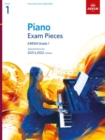 Image for Piano Exam Pieces 2021 & 2022, ABRSM Grade 1 : Selected from the 2021 & 2022 syllabus