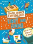 Image for Simple Science Experiments: Light and Sound