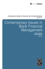Image for Contemporary issues in bank financial management