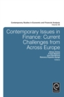 Image for Contemporary issues in finance: current challenges from across Europe