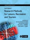 Image for Research methods for leisure, recreation and tourism