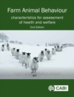 Image for Farm animal behaviour  : characteristics for assessment of health and welfare