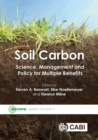 Image for Soil carbon  : science, management, and policy for multiple benefits