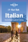 Image for Lonely Planet fast talk Italian