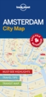 Image for Lonely Planet Amsterdam City Map