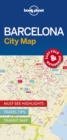 Image for Lonely Planet Barcelona City Map
