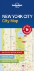 Image for Lonely Planet New York City Map