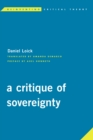 Image for A critique of sovereignty