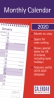 Image for Essential Month-to-View Stubby Slim Calendar 2020