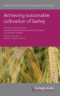 Image for Achieving sustainable cultivation of barley